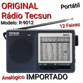 Rádio Portartil Original Tecsun R-9012 _ 12 Faixas Fm,am,oc