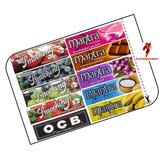 Rolling Paper 10 Sabores Cherry Uva Choco Chicle Coco Etc