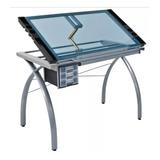 Mesa Para Desenho De Vidro Futura Craft Station 61x96cm