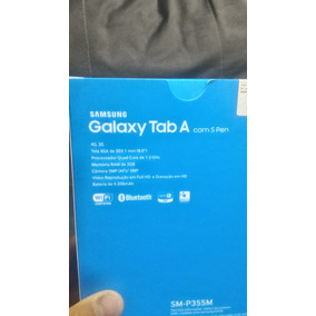 Tablet Samsung Novo Galaxy Tab A Com S Pen