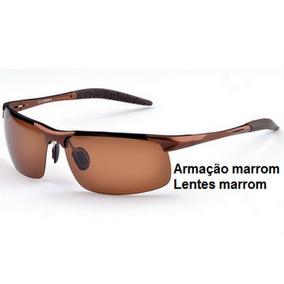 4b97fb41333ef Oculos De Sol Masculino Lentes Polarizadas Armação Aluminio