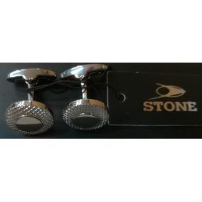 Gemelos Stone Acero Caballero Stg001 Agente Oficial