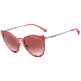 Emporio Armani Ea 2063 - Óculos De Sol 3216 13 Rosa Fosco E 400f6e754b