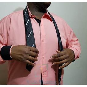 Camisa Social Plus Size - Varias Cores - Pronta Entrega