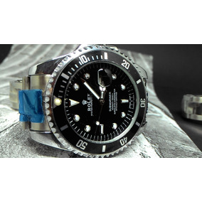 Relógio Masculino 45mm Aço Varias Cores Disponíveis