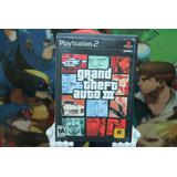 Grand Theft Auto 3 Gta Playstation 2 Completo. Excelente Con