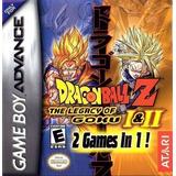Dragon Ball Z: The Legacy Of Goku 1 Y 2 Gameboy Advance