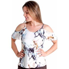 Blusa Ciganinha Estampada - Blusas para Feminino no Mercado Livre Brasil b286e9a75e1