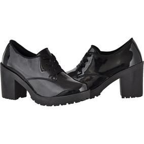 f40045b26 Sapato Oxford Feminino Salto - Sapatos no Mercado Livre Brasil