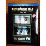 The Walking Dead Gift Set Limitado Da 3ª Temporada - Bluray