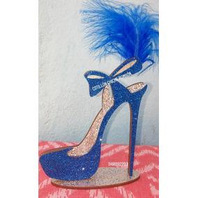 Zapato Brillante Souvenirs 15 Años 50 Años Mujer Oferton