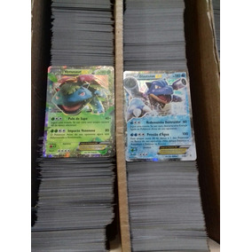 1 Card Ex + 500 Cards De Pokemon Tcg