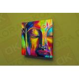 Buda Acuarela Cuadro En Canvas