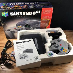 Nintendo 64 Original Completo Na Caixa P/ Colecionador!! A+