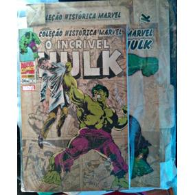 Col.historica M. O Incrivel Hulk Vol 1/2/3/4 Frete Incluso