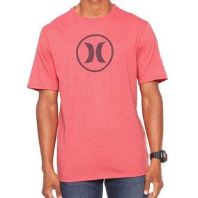 Camiseta Hurley Silk Circle Icon Vermelha 92b18210ec4