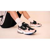 watch 90c18 2d5d6 Zapatillas adidas Adi Falcon Negras Rosa De Dama Originales