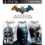 Batman Arkham Origins + Asylum + City Ps3 Digital Gcp