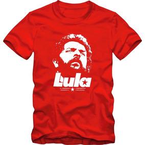 Camiseta Camisa Plus Size Tamanho Especial Presidente Lula 43d9474918c46