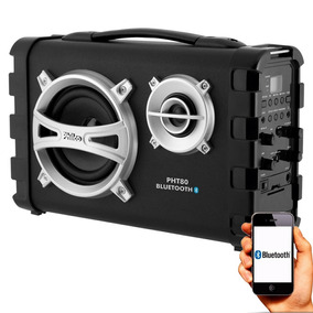 Caixa Bluetooth Multi Connect Churrasco Praia 80w Rms Philco
