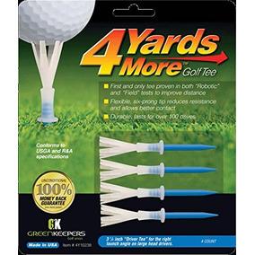 4 Yardas Más Golf Tee - 3 1/4 Conductor (4 Camisetas