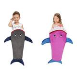 Cobertor Saco De Dormir Infantil Tubarão Manta Baby Shark