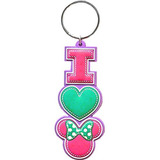 Disney I Heart Minnie Mouse Pilack Lasercut Llavero 63181c23080