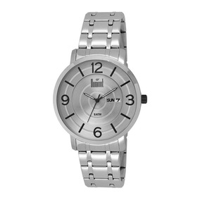 Relógio Unissex Dumont Slim Analógico Du2305ab/3k - Prata