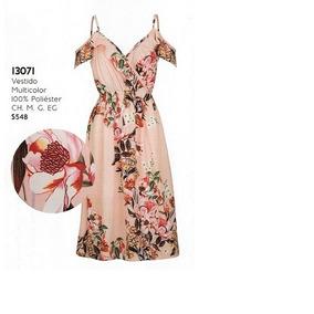 Vestido Multicolor Rinna Bruni 13071..outlet/saldos Mchn