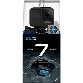 Gopro Hero 7 Black Câmera 4k Prova Da Água Sd 64gb Class 10