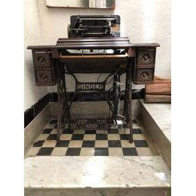Máquina De Coser Singer, Completa, Buen Mueble, No Envío