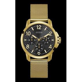 3299c334d4f Relogio Guess Dourado Fundo Rosa - Relógios no Mercado Livre Brasil
