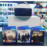 Ps4 Pro 1tb 4k 2 Mandos 4 Juegos Accesorios Realidad Virtual