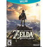 The Legend Of Zelda Breath Of The Wild Wii U Nuevo Sellado