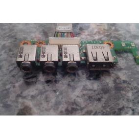 Placa De Audio E Usb Notbook Hbuster Hbnb-1403/200 + Flat