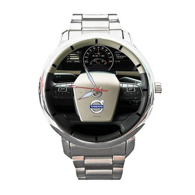 Relógio Personalizado Painel Volvo Caminhão Onibus 1608g
