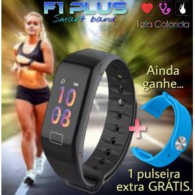 Relógio Pulseira Inteligente Smartband + 1 Pulseira Extra