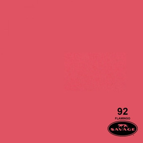 Ciclorama De Papel Flamingo #92 Savage Chico