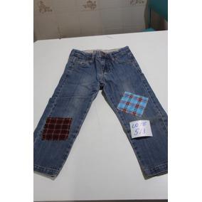 = Roupa Lote 513 Menino Calca Jeans Festa Junina Basta Tirar