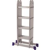 Escada De Alumínio Mor Multiuso, 16 Degraus - 5132