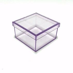 Caixinha Em Acrílico 7x7 (70 Unid) Lembrancinhas