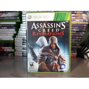 Jogo Assassins Creed Revelations Xbox 360 Original Mídia
