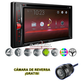 Autoestereo Pioneer Avh-a105dvd Android Ipod Iphone + Camara