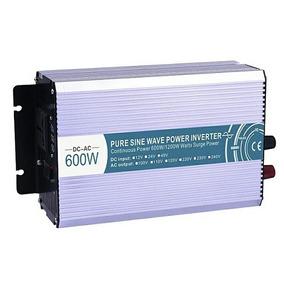 Inversor Senoidal Pura 600w,pico 1200w,60 Hz 12v Para 220