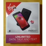 Marca Virgen Móvil Motorola Moto E4 16 Gb Regaliz Negro 2gb