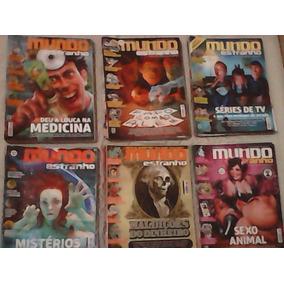 Diversas Edições Da Revista Mundo Estranho
