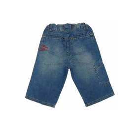 Bermudão Masculino Infantil Jeans Hot Wheels