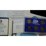 2004 Us Proof Set 50 State Quarter Original Packaging