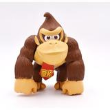Mario Bros Figura Donkey Kong Articulada 15 Cm