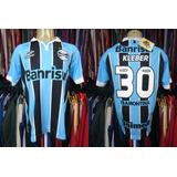 Grêmio 2012 Camisa Titular Tamanho M Número 30 Kléber.